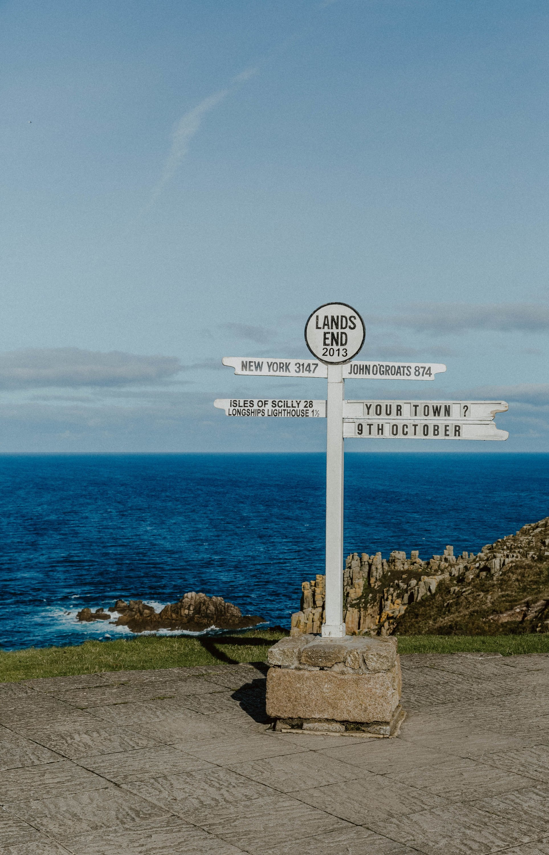 Lands End signpost
